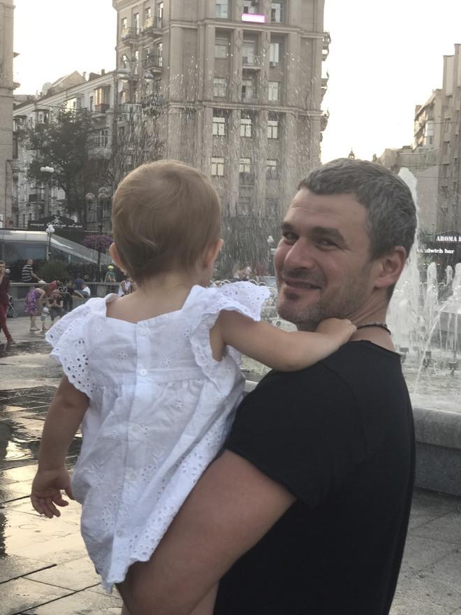 Арсен Мирзоян и Тоня Матвиенко (дочь)