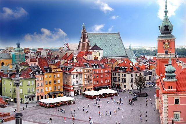 Достопримечательности Варшавы: Старый город