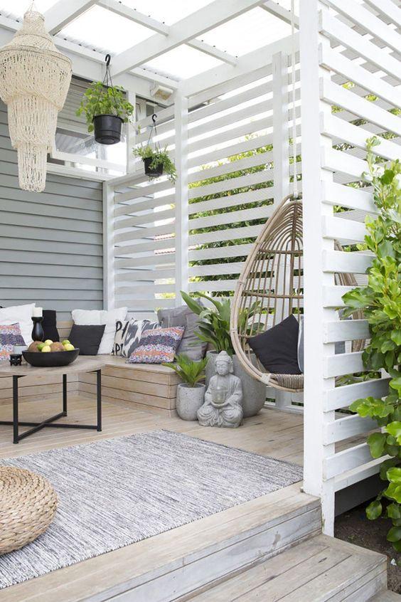Как красиво оформить патио для отдыха на даче