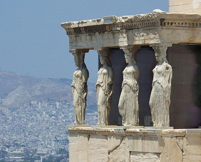 Цікаві місця Греції: Ерехтейон
