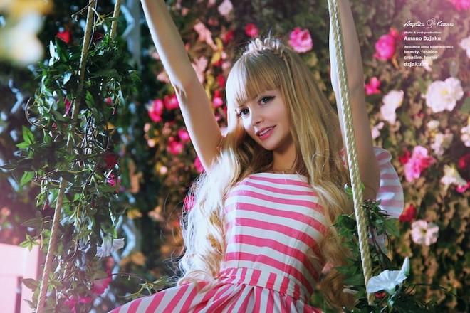 Анжелика Кенова - живая кукла Барби
