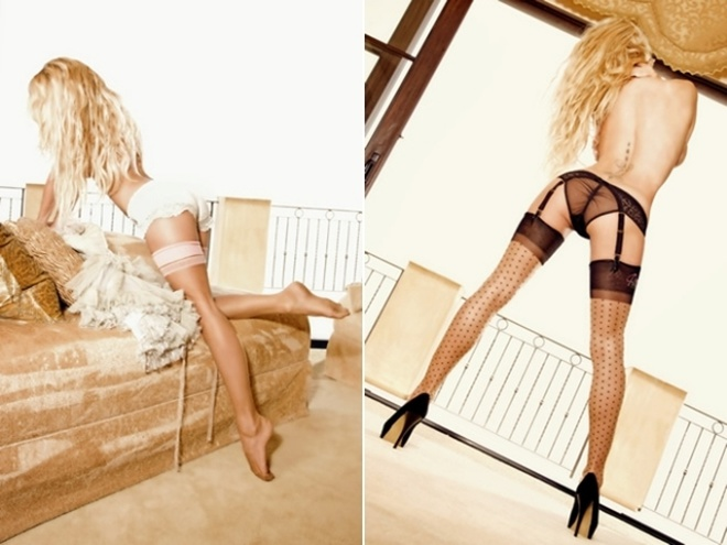 Pamela Anderson Strips Down In Erotic Lingerie For Coco Holed 1