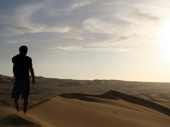 Уакачіна, пустеля Сечура, Перу