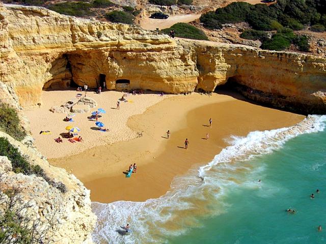 Пляжі Алгарве: Praia do Carvalho