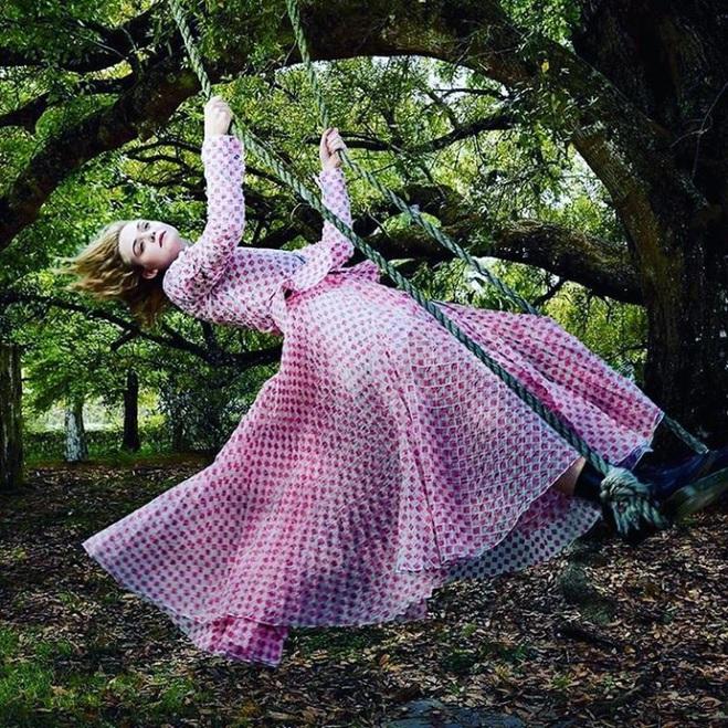 Эль Фэннинг для Vogue