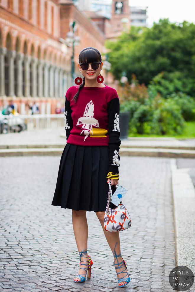 6 стрітстайл-ідей, як носити светр восени 2016