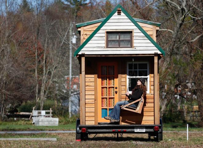 Избавиться от барахла и отправиться путешествовать в доме на колёсах