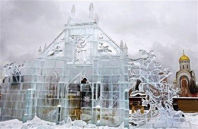 из снега и льда(КРУТЬ)