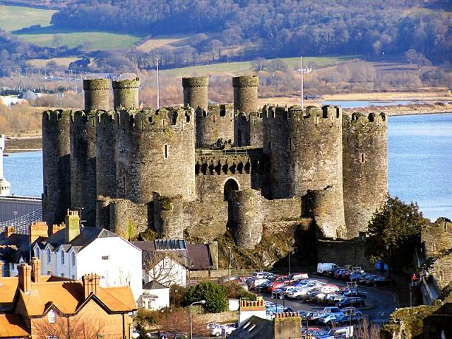 Замки Великобритании: замок Конуи