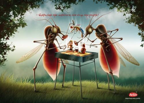 Трапеза комаров