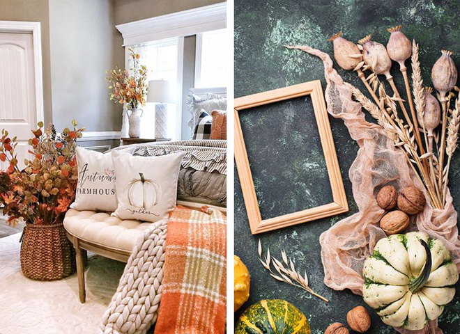 Осенний декор: идеи для украшения дома