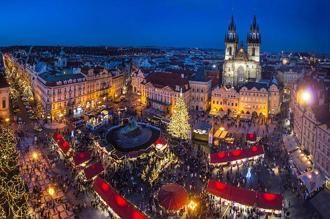 Рождественский базар Прага