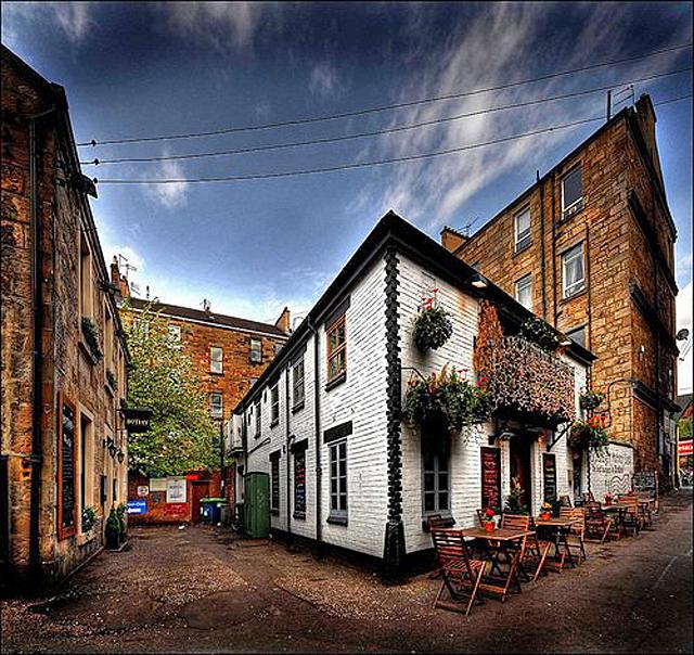 Ruthven Lane, Шотландия, Глазго