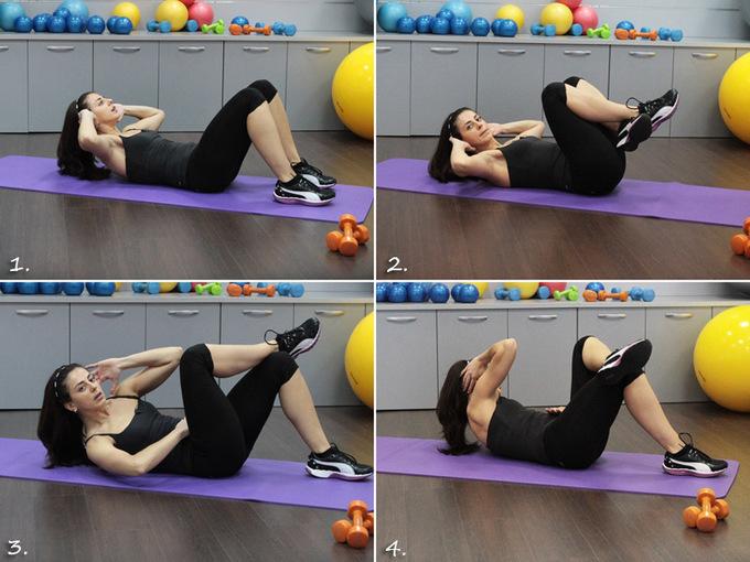Мастер-класс по фитнесу. Как не поправиться зимой