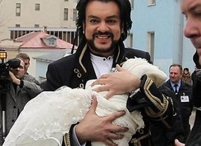 Філіп Кіркоров і його син Мартін