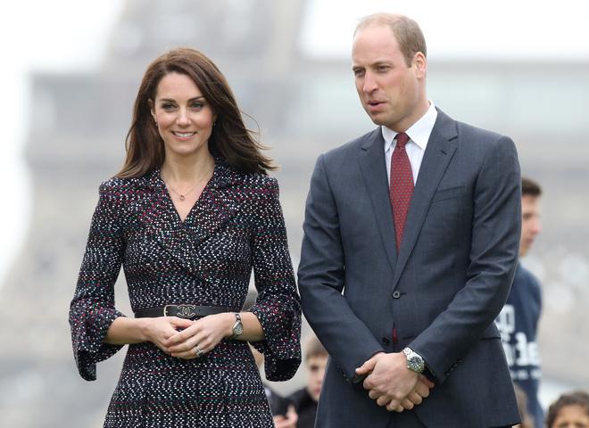 принц Уильям и Кейт Миддлтон в Париже