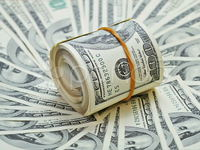 Рулон долларов