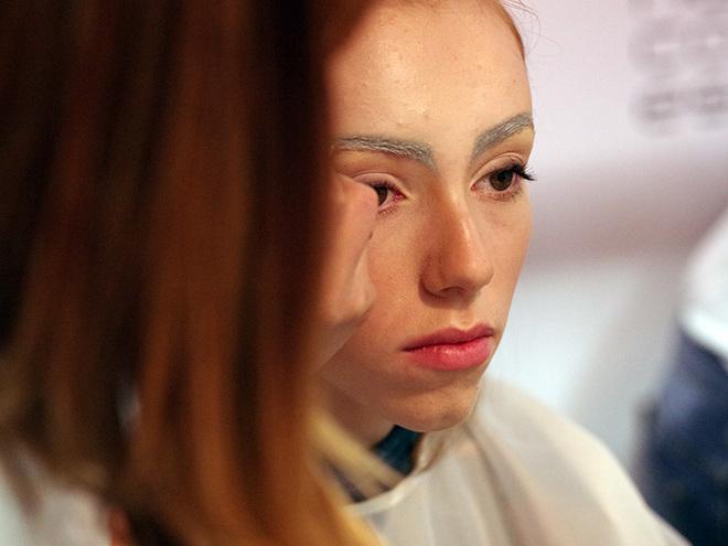 UFW AW 16/17. Другий день: бекстейдж макіяж