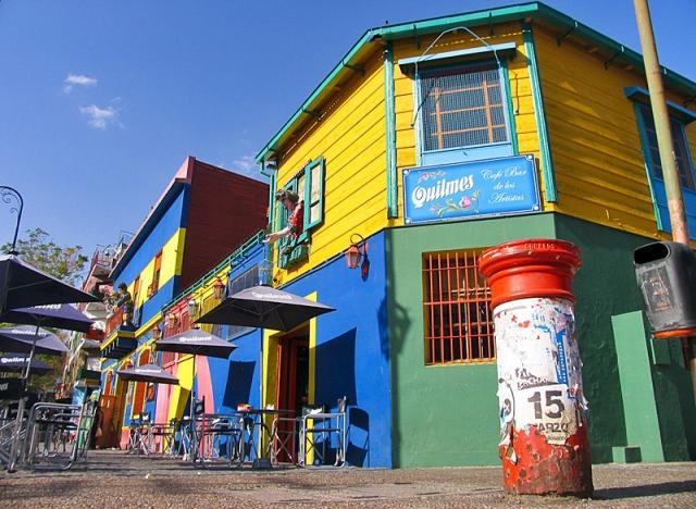 Різнокольорові міста світу: Буенос-Айрес, Аргентина