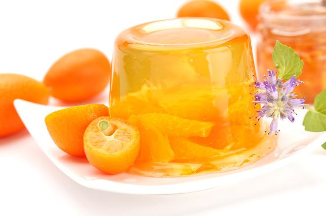 Желе с апельсинами рецепт с фото