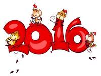 Новый год обезьяны 2016