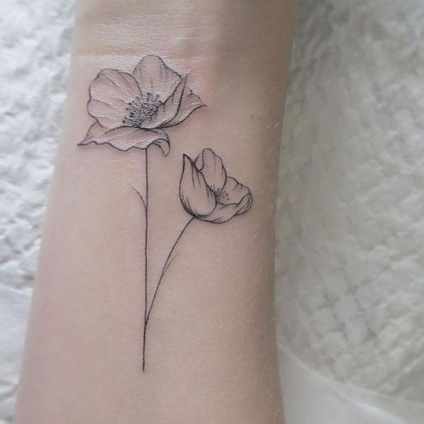 Нежные татуировки от instattoo2