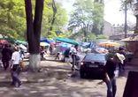 Съемка фильма 'Перевозчик 3' в городе Одессе