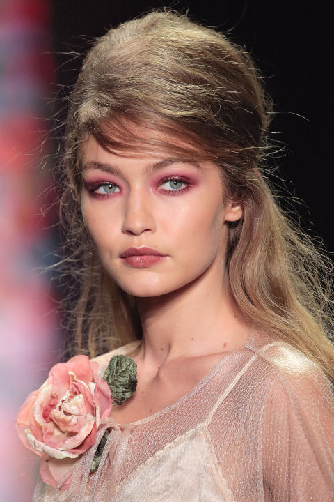 Make-up тренд 2017: красные тени