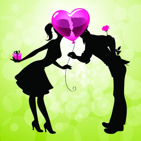 Открытка на День Св. Валентина