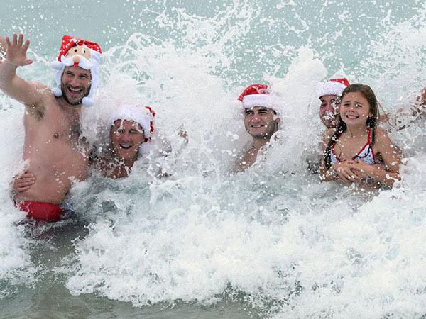 Как встречают Новый год в теплых странах