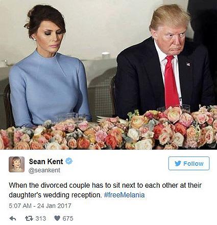 Мелания Трамп мэмы