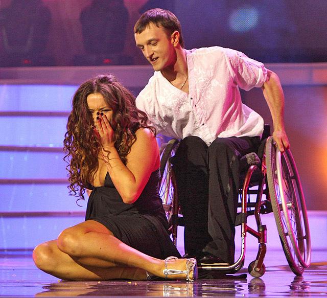 Наталя Могилевська упела з інвалідного візка