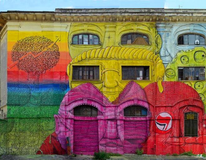 Другой Рим: из заброшенных зданий в произведение искусства