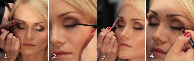 Роскошный макияж к Новому году