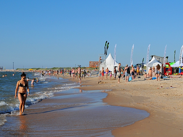 Найкращі пляжі Балтійського моря: Вентспилсский пляж, Латвія
