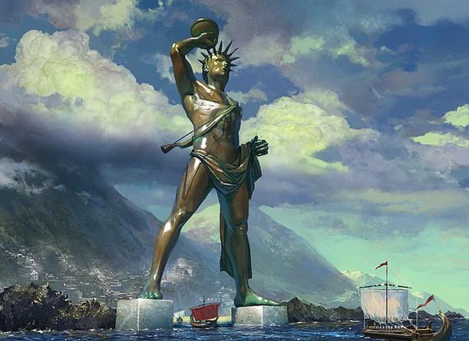 В Греции воссоздадут статую Колосса Родосского