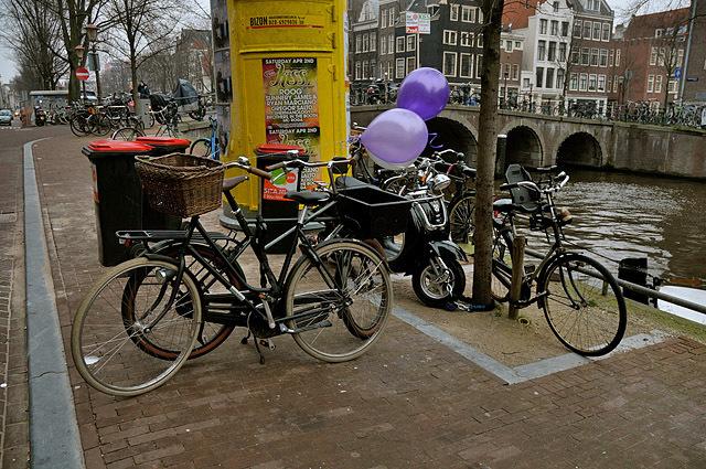 Де рай для велосипедистів: Амстердам