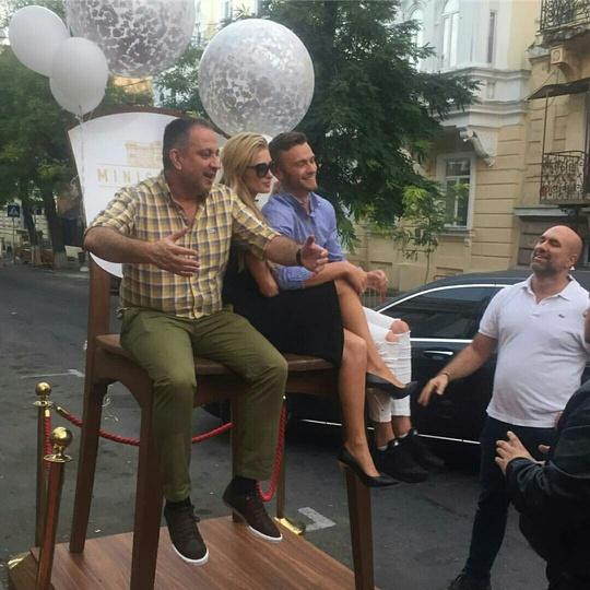 Періс Хілтон в Одесі