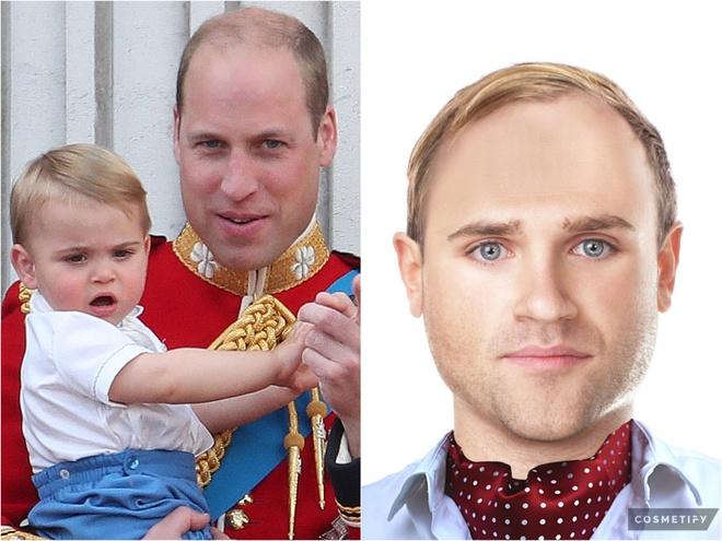 Принц Луи сейчас и через 20 лет