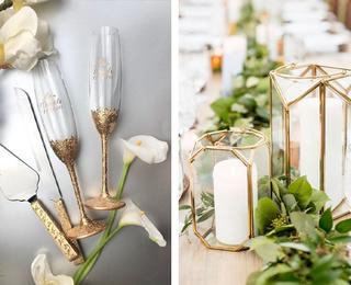 Свадебный декор своими руками: необычные идеи