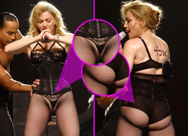 Мадонна показала ВСЕ