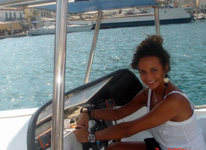 Маша Фокина в Греции