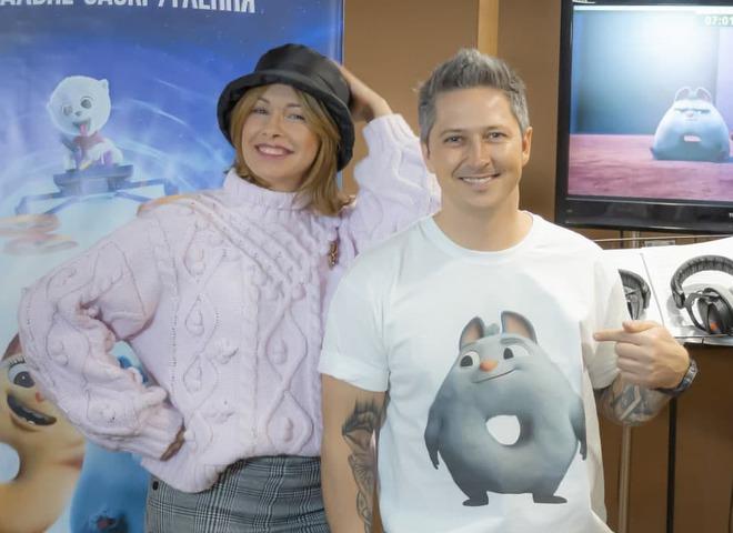 Елена Кравец и Александр Педан
