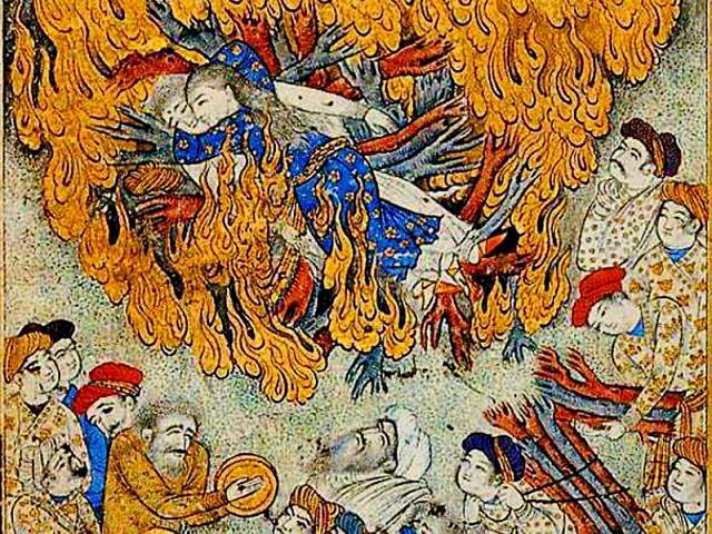 Умом Индию не понять: традиция сати