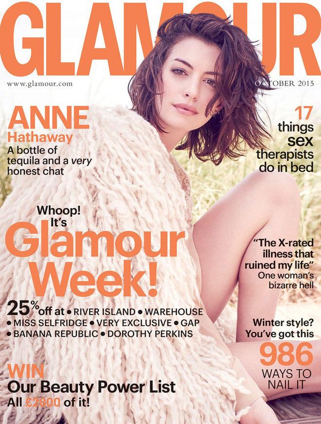 Енн Гетевей в Glamour UK