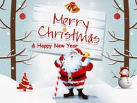 С Рождеством и Новым годом 2017!