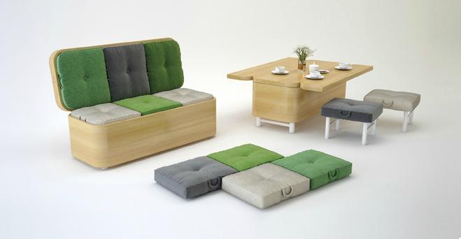 Диван Convertible Sofa, дизайн – Юлия Кононенко