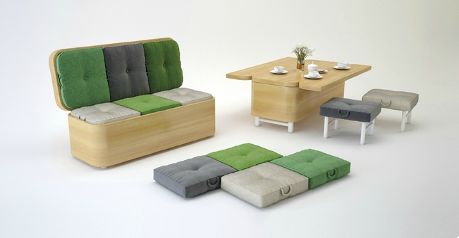 Диван Convertible Sofa, дизайн - Юлія Кононенко