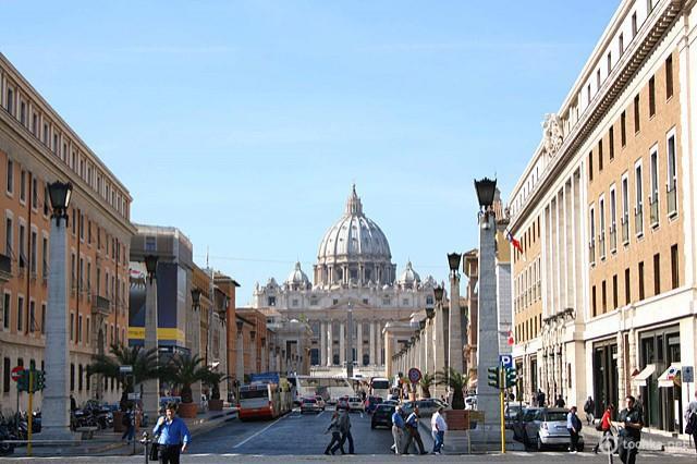 Цікаві місця Риму: Собор Св. Петра