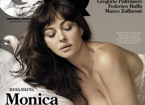 Моніка Беллуччі для GQ Italia